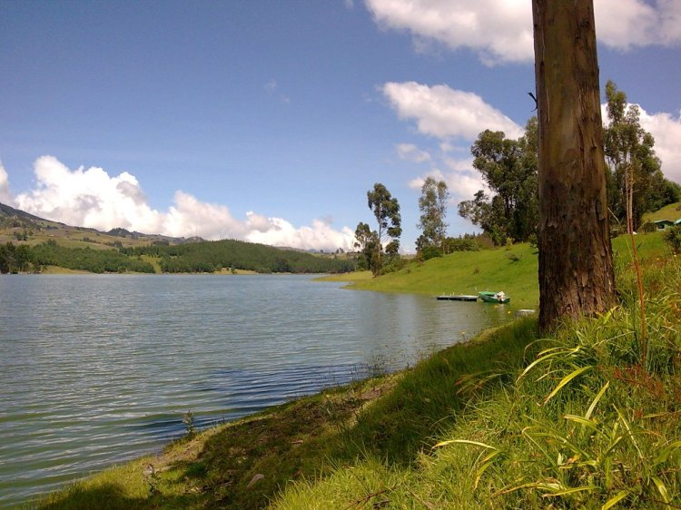 Embalse el Hato, Municipio de Carmen de Carupa - Cundinamarca - Colombia. Foto: David Medina