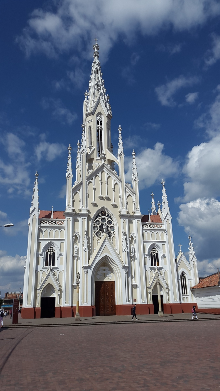 Basílica del Santo Cristo de Ubaté - Cundinamarca - Collombia. Capilla de Santa Barbara - Ubaté - Cundinamarca - Colombia. Foto: David Medina
