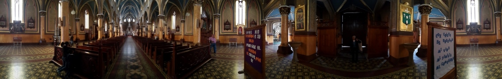 Basílica de Ubaté - Cundinamarca - Colombia. Basílica del Santo Cristo de Ubaté - Cundinamarca - Collombia. Capilla de Santa Barbara - Ubaté - Cundinamarca - Colombia. Foto: David Medina
