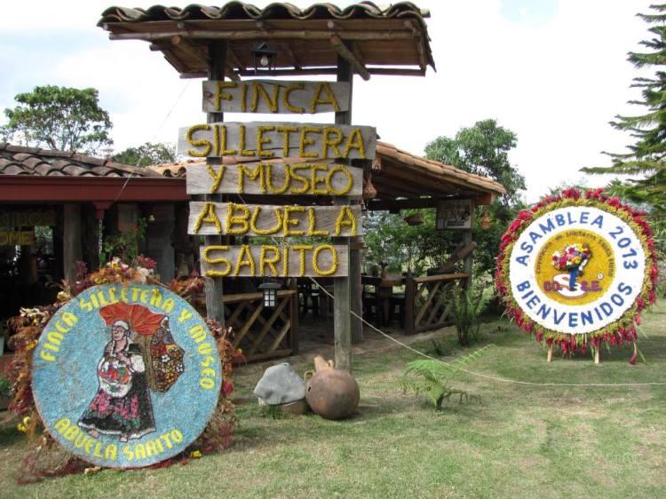Finca Silletera Abuela Sarito en Santa Elena - Medellín - Antioquia. Foto David Medina