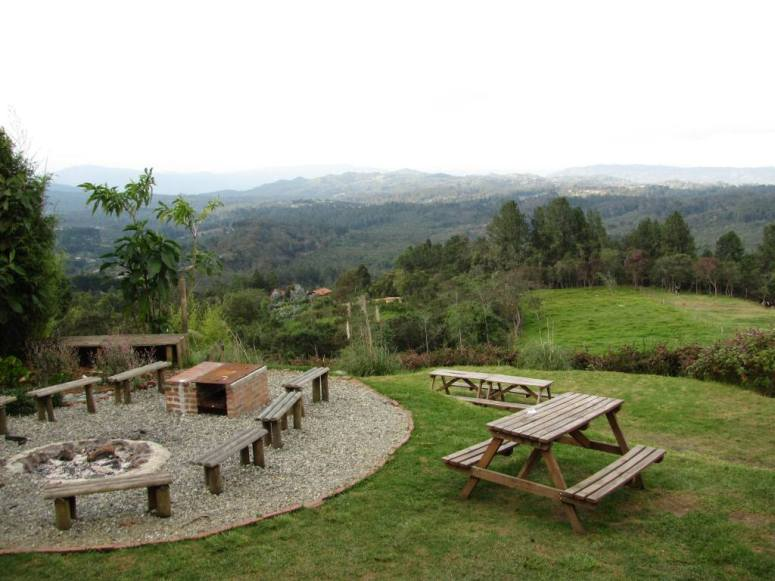 Hospedaje Montaña Magica en Santa Elena - Medellín - Antioquia. Foto David Medina