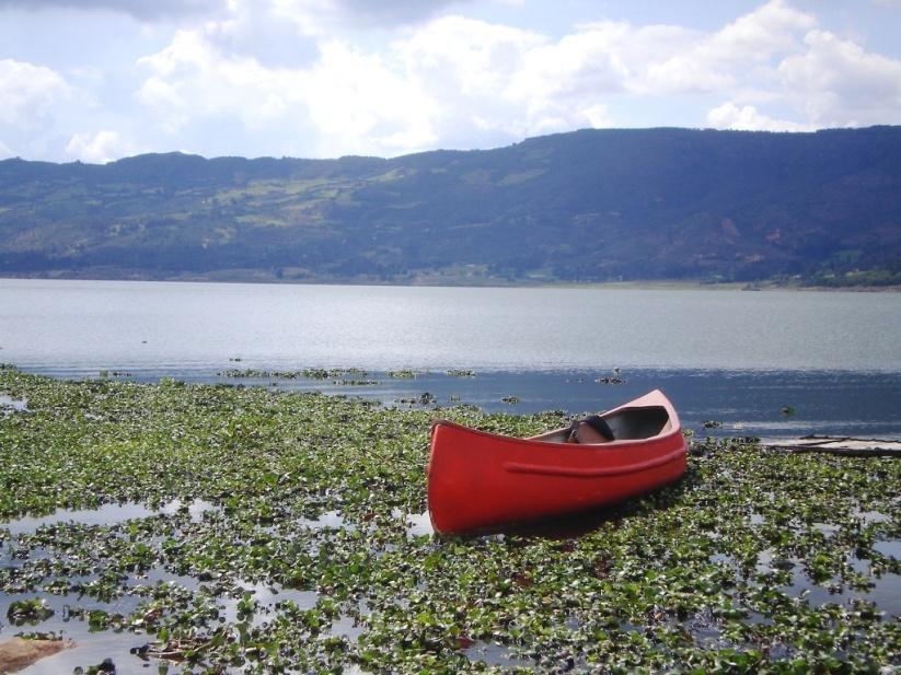 Embalse de Tominé - Guatavita Cundinamarca. Foto David Medina.