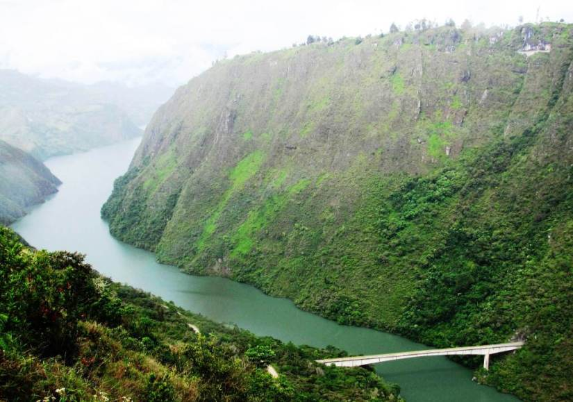 Embalse del Guavio - Cundinamarca. Foto David Medina.