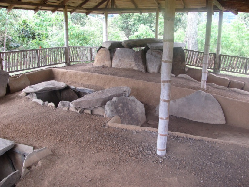 Tumbas en San Agustín - Huila, Colombia. Foto David Medina