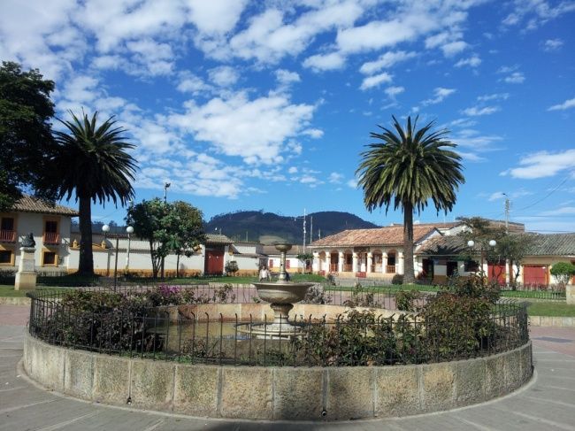 Parque Principal Municipio de Bojacá - Cundinamarca.