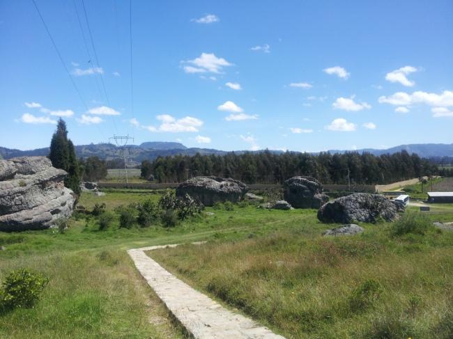 Parque Piedras de Chivo Negro Municipio de Bojacá - Cundinamarca