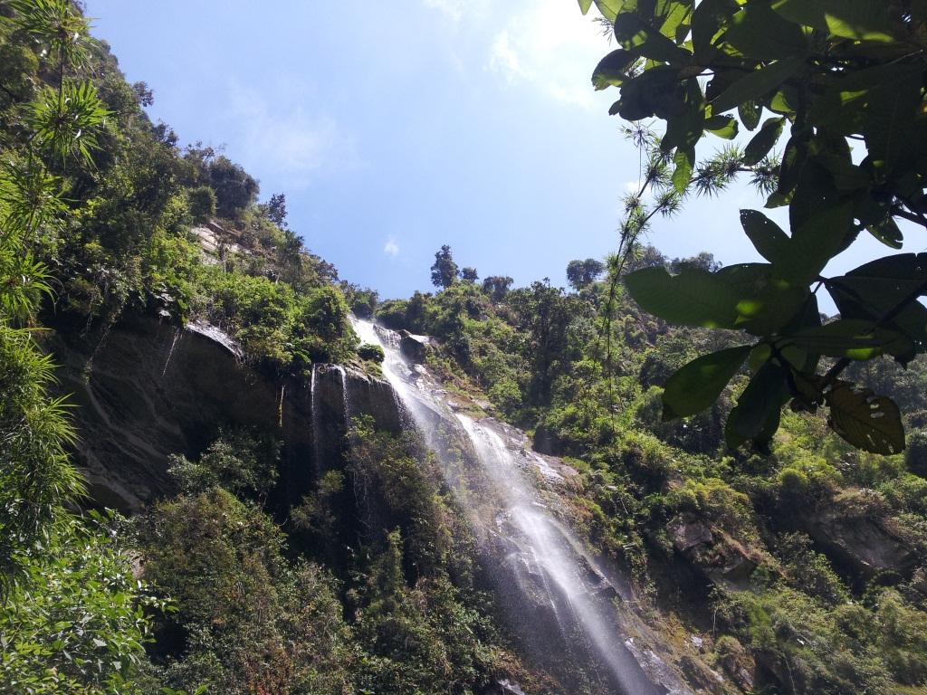 Cascada La Chorrera - Choachí - Cundinamarca. Foto: David Medina