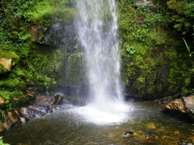 Cascada El Chiflon - Choachí - Cundinamarca. Foto: David Medina