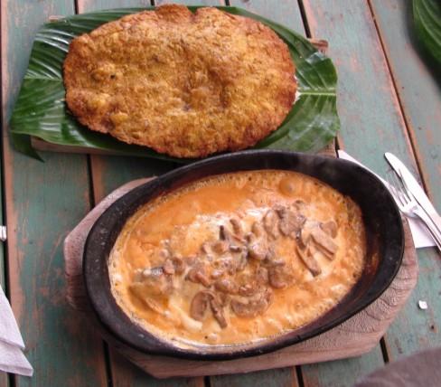 Trucha y Patacón