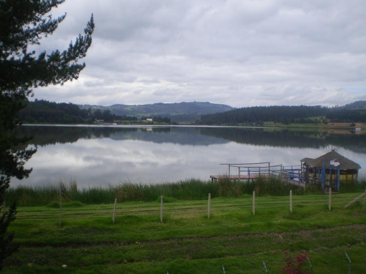 Lago Sochagota - Paipa - Boyacá.  Foto: David Medina