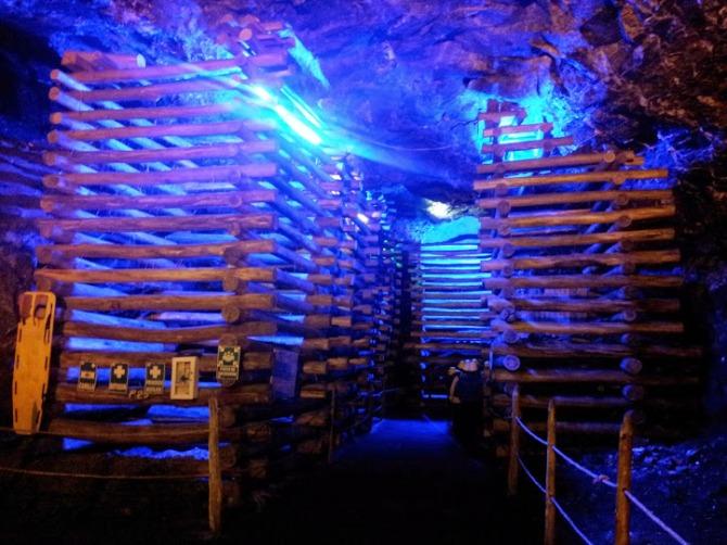 Estructura interna de la mina