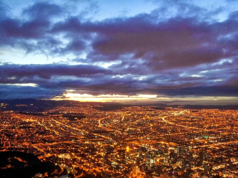 Panoramica Atardecer Bogotá D.C.