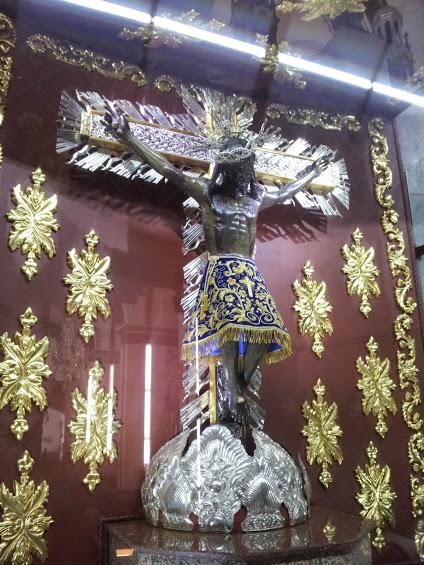 Imagen del señor de los Milagros Basílica de Buga - Valle del Cauca. Foto: David Medina
