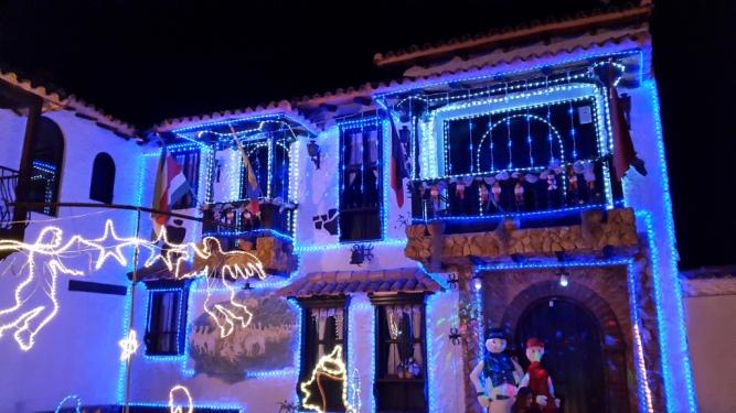 Alumbrados navideños en el Pueblito Boyacense - Duitama - Boyacá. Foto: David Medina
