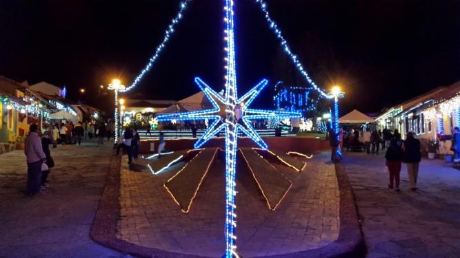 Navidad en el Pueblito Boyacense - Duitama - Boyacá. Foto: David Medina