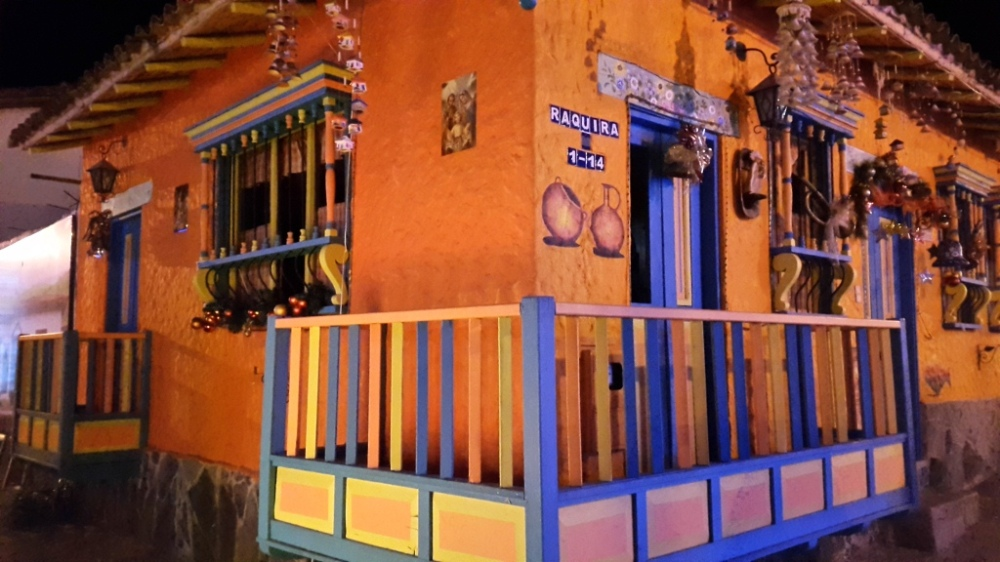 Arquitectura Colonial en el Pueblito Boyacense - Duitama - Boyacá. Foto: David Medina