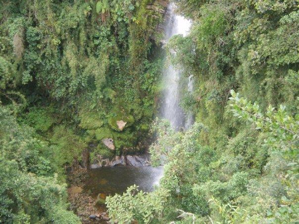 Cascada El Chiflón - Choachí - Cundinamarca. Foto: David Medina