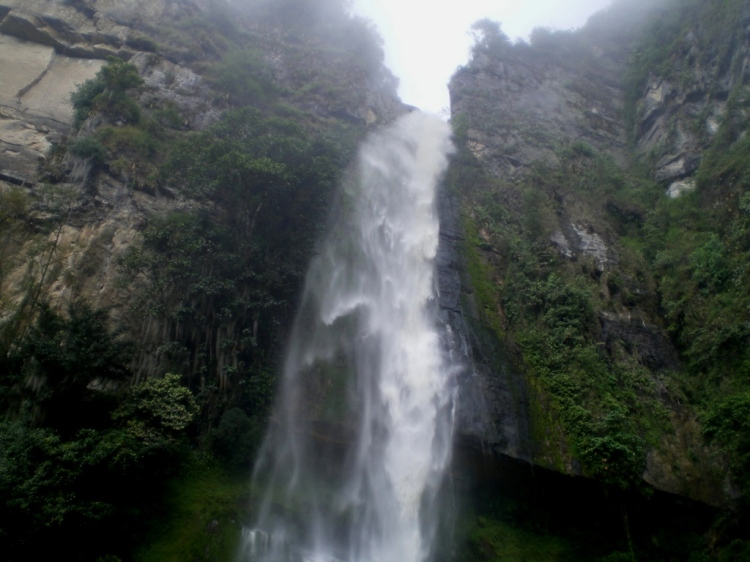 Cascada La Chorrera - Venecia, Cundinamarca. Foto: David Medina