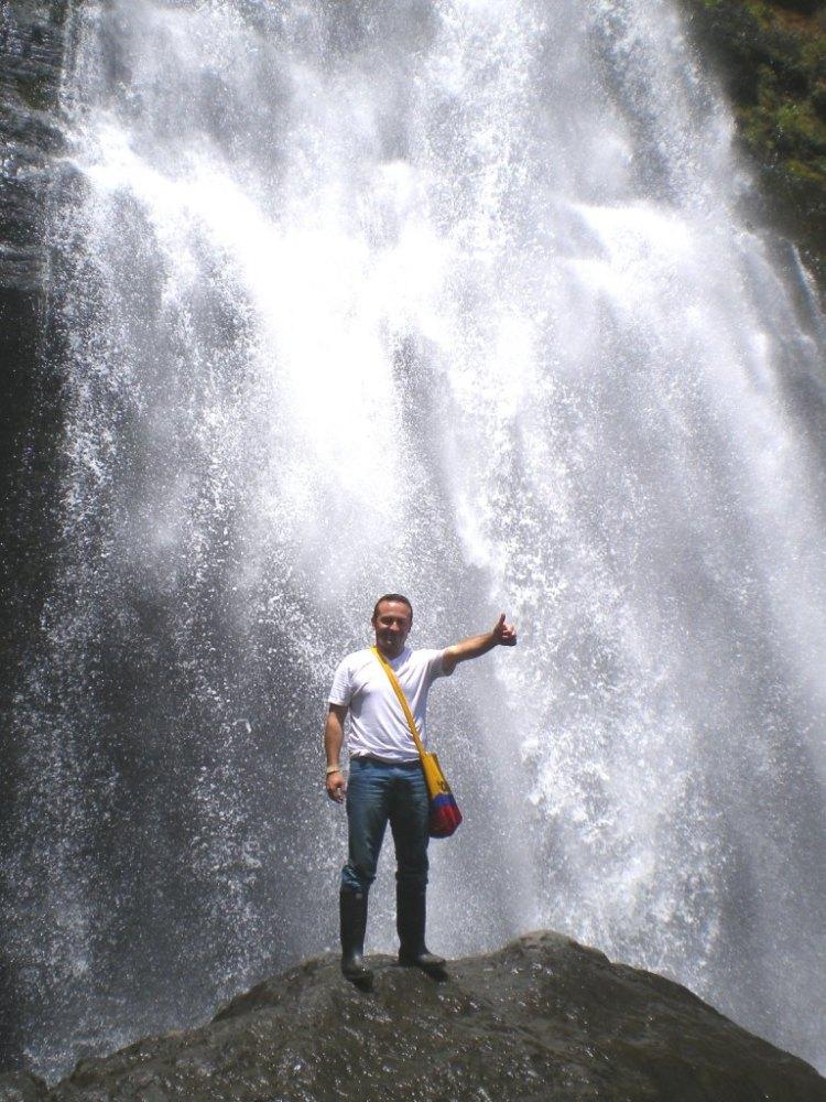 Cascada Nemostén - Junín, Cundinamarca.