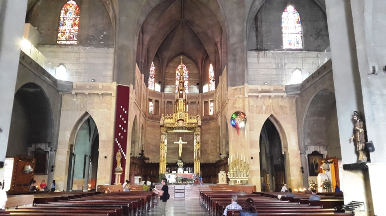 Interior de la Catedral Basílica de Manizales - Caldas. Foto: David Medina