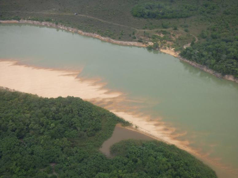 Rio Bita - Foto aerea: David Medina