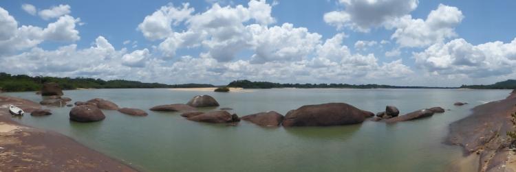 Panorámica de Río Orinoco en el Parque Nacional Natural El Tuparro - Vichada. Foto: David Medina