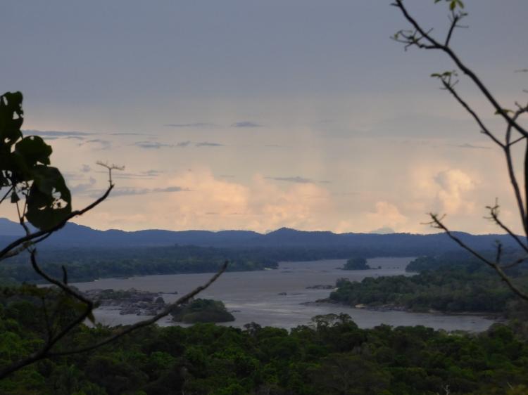 El Río Orinoco y el PNN El Tuparro - Vichada. Foto: David Medina