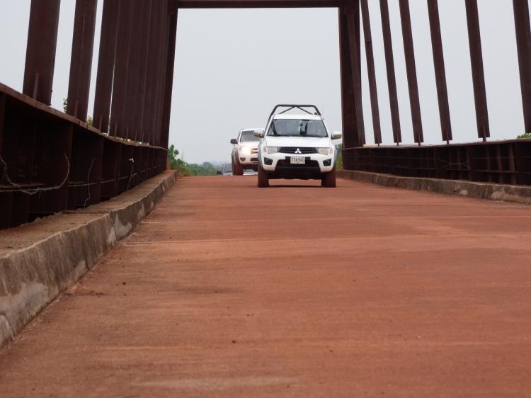 Puente Paso Ganao sobre el Río Bita - Vichada. Foto: David Medina