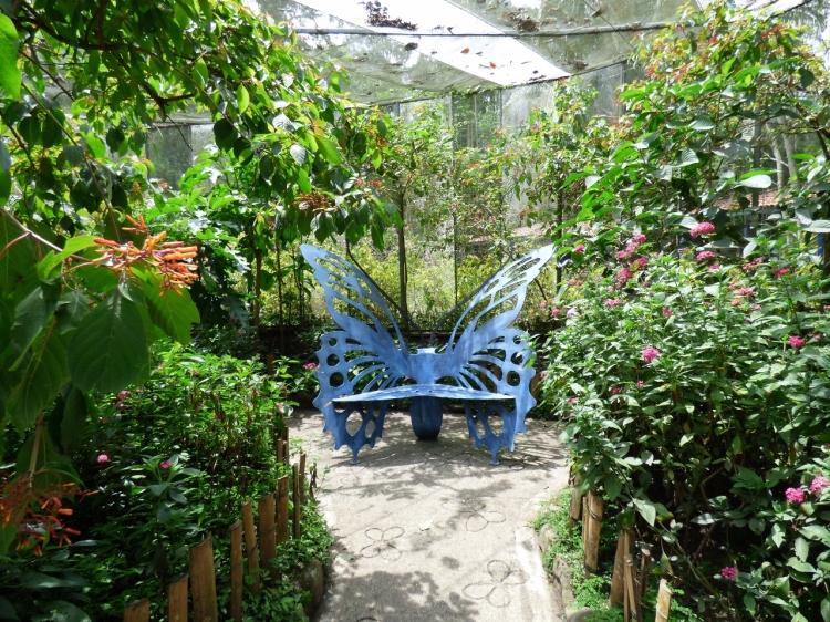 Mariposario del Jardín Botánico del Quindío
