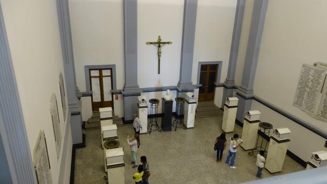 Interior del Panteón de los Próceres - Popayán - Cauca. Foto: David Medina