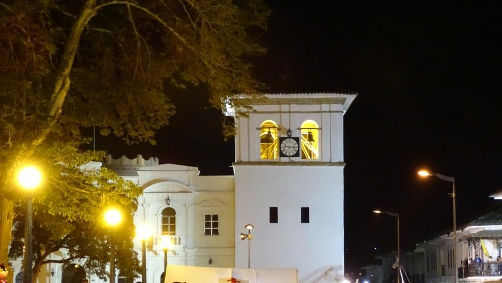 Torre del Reloj- Popayán - Cauca. Foto: David Medina