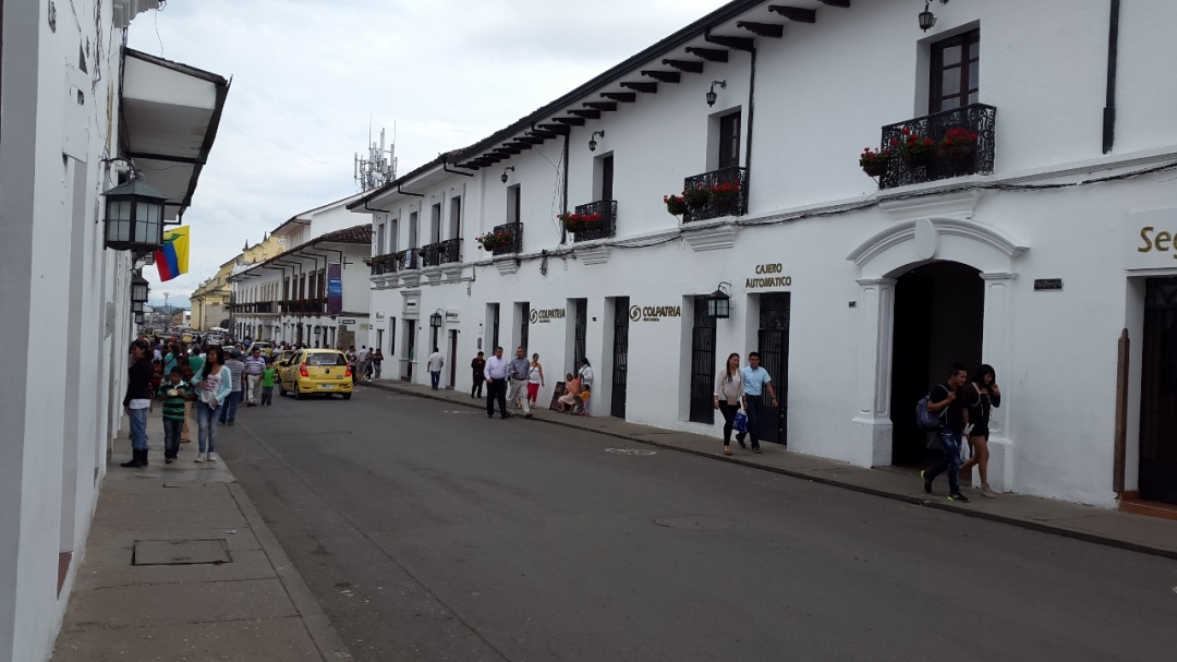 Centro Histórico - Popayán - Cauca. Foto: David Medina