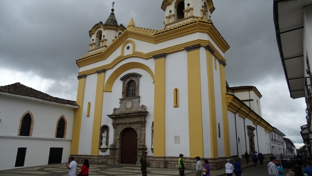 Iglesia de San José - Popayán - Cauca. Foto: David Medina