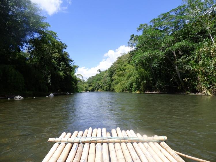 Balsas en el Río la Vieja - Quimbaya y Alcalá - Colombia. Foto: David Medina