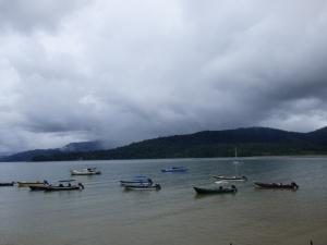 Embarcaciones en Bahía Solano - Chocó. Foto: David Medina