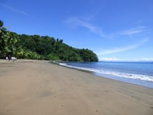 Playa Huina en Bahía Solano - Chocó. Foto: David Medina