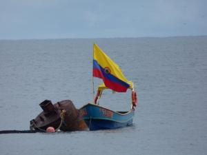 Océano pacífico Bahía Solano. Foto: David Medina