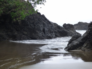 Playa el Almejal - Bahía Solano. Foto: David Medina