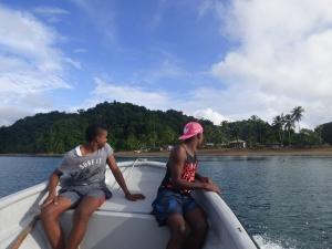 Nativos en Bahía Solano - Chocó. Foto: David Medina