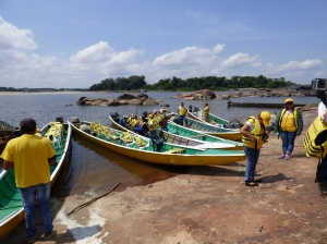 Garcitas - Río Orinoco - Vichada. Foto: David Medina