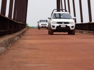 Puente Paso ganao - Río Bita - Vichada. Foto: David Medina
