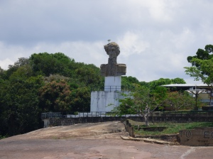Monumento a Bolívar - Río Orinoco - Vía Garcitas - Tuparro - Vichada. Foto: David Medina