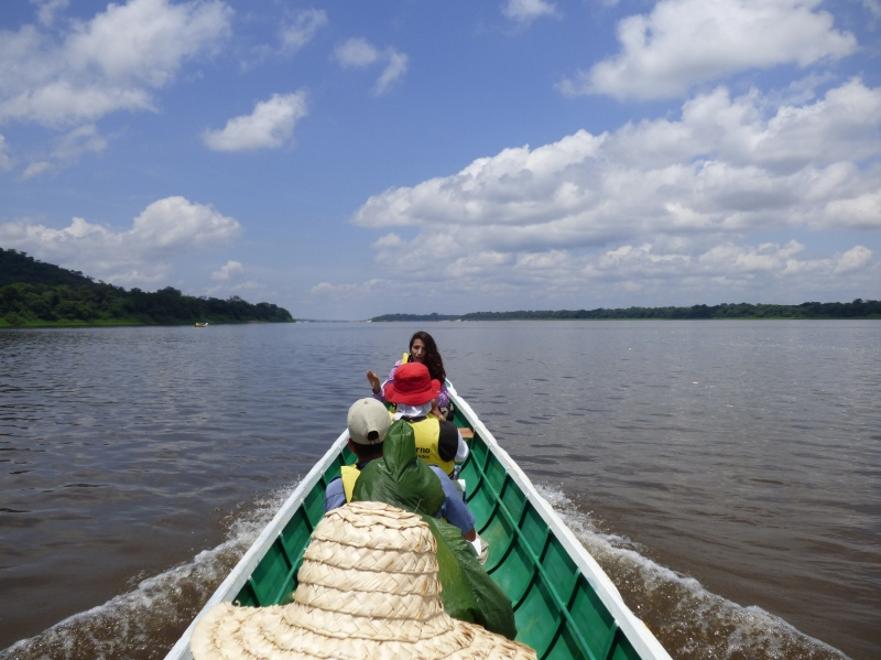Navegando el Río Orinoco - Vía Garcitas - Tuparro - Vichada. Foto: David Medina