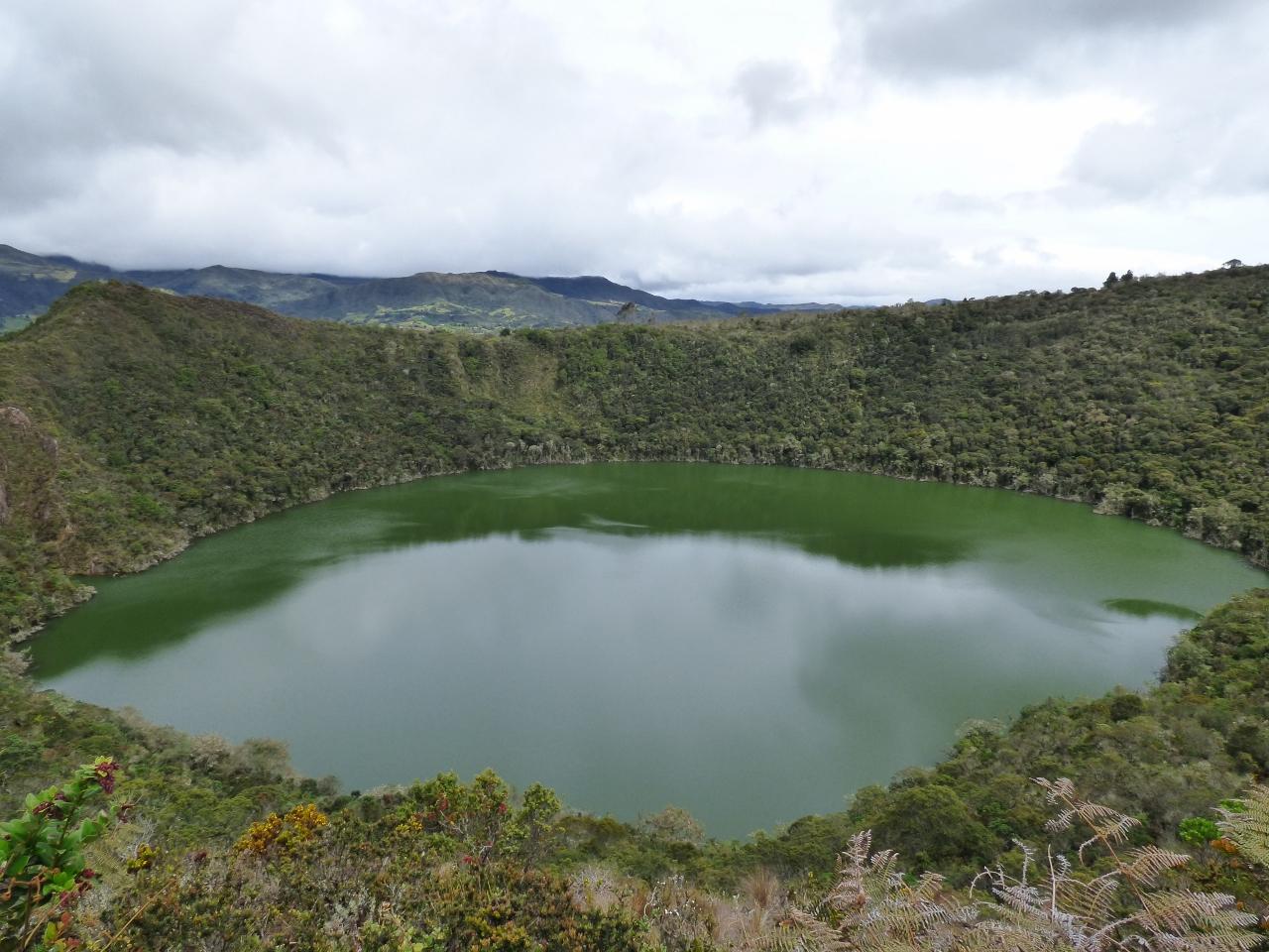 Laguna de Guatavita - Cundinamarca - Colombia. Foto: David Medina