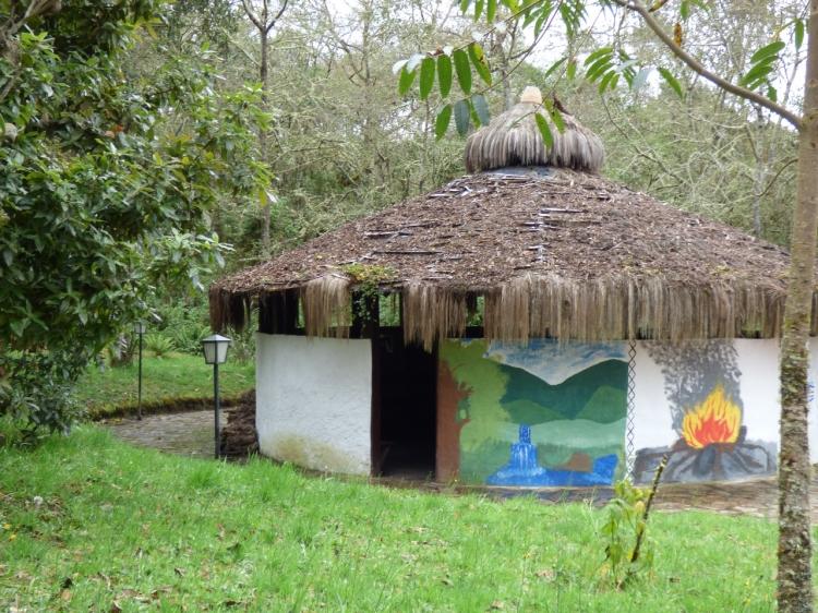Maloka en la laguna de Guatavita - Cundinamarca. Foto: David Medina