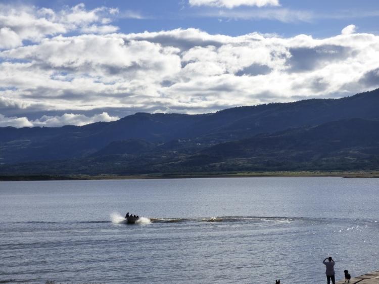 Embalse de Tominé - Guatavita - Cundinamarca. Foto: David Medina