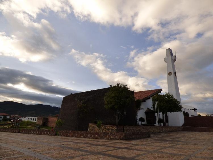 Iglesia nuestra señora de Los Dolores - Guatavita - Cundinamarca. Foto: David Medina