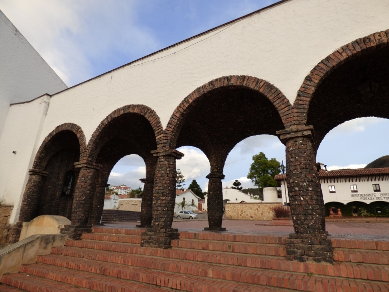 Columnas - Guatavita - Cundinamarca. Foto: David Medina