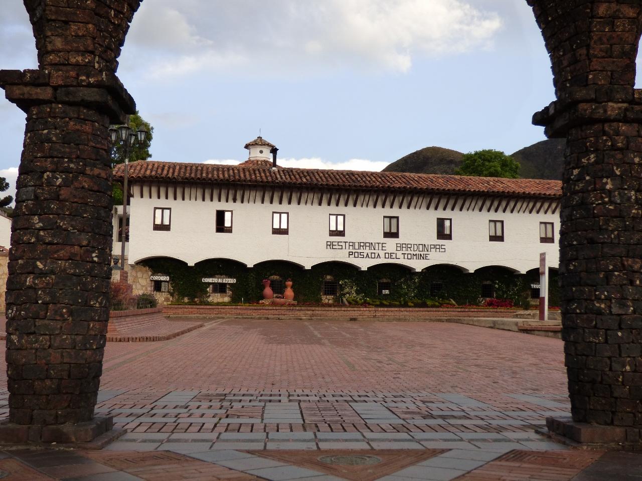 Restaurante Bar Don Pas - Casa municipal Guatavita - Cundinamarca - Colombia. Foto: David Medina