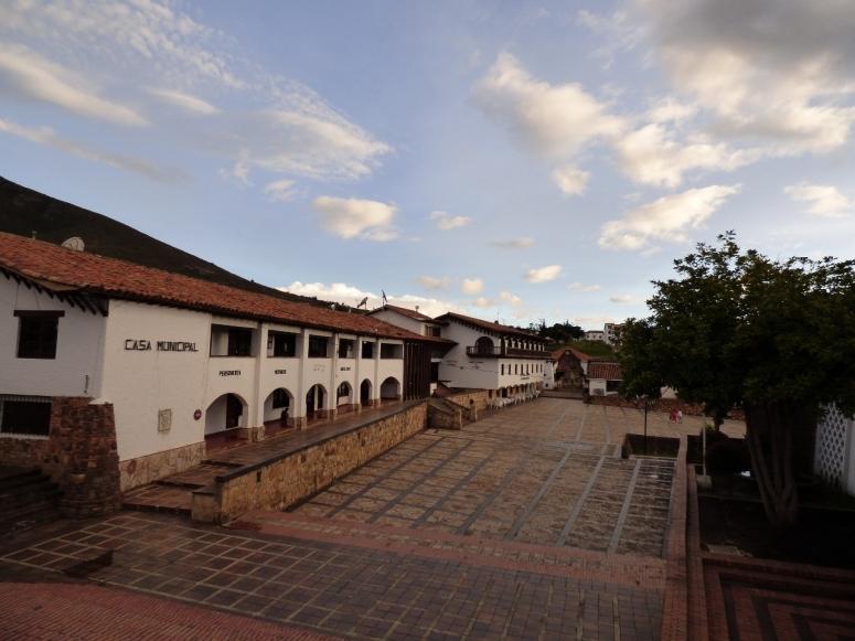 Casa municipal Guatavita - Cundinamarca - Colombia. Foto: David Medina